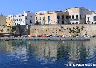 gallipoli citta vecchia vista mare