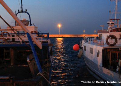 gallipoli pescherecci serali porto commerciale
